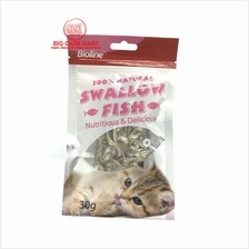 Bioline Swallow Fish Cat Treats 30g