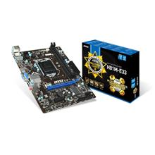 MSI H81M-E33 SOCKET 1150 MOTHERBOARD