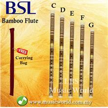 BSL Chinese Flute Bamboo Flute Standard Series With Plastic Tip C D E