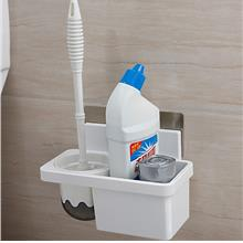 Wall-mounted Toilet Brush Holder