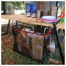 Portable Folding Iron Rack And Storage Bag Table Barbecue Picnic