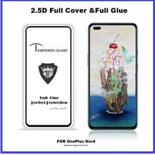 OnePlus Nord / 7T / 6 Full Glue Cover Tempered Glass Screen Protector