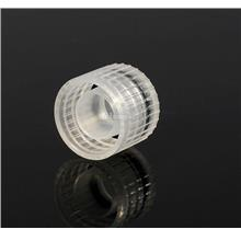 Biologix Screw Cap with O-Ring, Clear, Non-sterile, PP (500pcs)