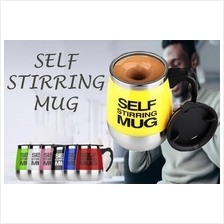 Self Stirring Mug Lazy Auto Mixing Home Office Stainless Steel 300ML