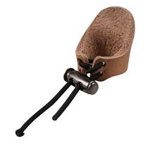 Finger Protector For Bow Arrow Archery Leather Ring Thumb Guard