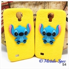 Samsung Galaxy S4 I9500 3D Stitch Silicone Soft Case Cover