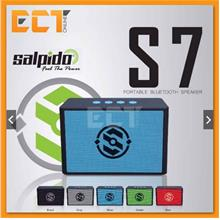 Salpido S7 Portable Wireless Bluetooth Speaker with SD Card Slot