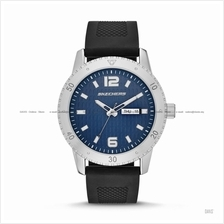 SKECHERS Watch SR5003 Men's 3-hand Day-Date Silicone Strap Blue