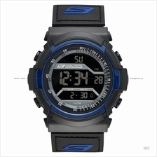 SKECHERS Watch SR1032 Unisex Flournoy Chrono Negative Nylon Black