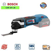 Bosch GOP 18V-28 EC Professional Multi Cutter SOLO (Unit Only) 1 YEAR