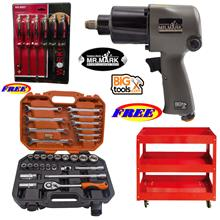 MR MARK 1/2 Hammer Professional Dr.Air Impact Wrench +MR MARK MK-4631