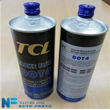 TCL Brake Fluid Dot 4, 1 Liter, Made In Japan