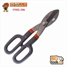 SNELL 10 inch High Quality All Purpose British Tin Snips Cut SN02-106