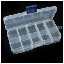 10 Grid storage box Jewelry Box Fake Eyelashes Box