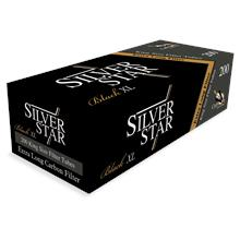 Silver Star (5902047174421) Carbon & Black Extra Long Filter Tube 200p..
