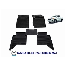 Mazda BT-50 BT50 EVA Rubber Car Mat (Complete Set)