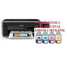 EPSON L360 Printer+ Extra 1 set Original CMYK Ink (Free Shipping)