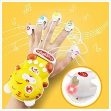 STUDY PIANO FINGER ( PINK/YELLOW)