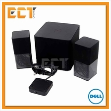 Dell AC411 Wireless Bluetooth 2.1 Stereo Speaker System - Black
