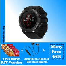 Garmin Fenix 5 Plus, 5X Plus Free RM50 KFC Voucher & Others Gifts