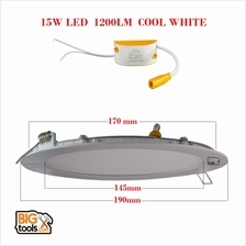 SMD 15W 6 1200LM Led Panel Downlight Round LED Ceiling Recessed Light