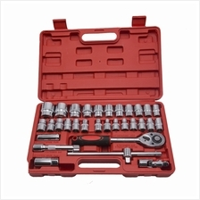 YUYAO 32 pcs 1/2 DR.Socket Wrench SET with Ratchet Wrench