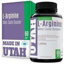 FLASH SALE - L-Arginine Nitric Oxide Booster, Best Muscle Growth Formula With