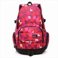 f3d0b23bd1b0 Stylish Pattern Bagpack Nike Sport Travel Laptop Bag Backpack Red