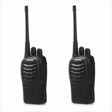 2PCS BAOFENG BF-888S WALKIE TALKIE WITH HIGH BRIGHTNESS (BLACK)