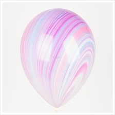 Qualatex Fashion SuperAgate 11-inch Marble Balloon (3 pieces)