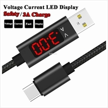 TOPK Voltage Current LCD Display Fast Charging Sync Data Cable