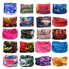 Outdoor Sport Turban Magic Headband Bandanna Face Mask Head Scarf