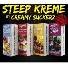 Steep Kreme Premium Series Big Bottle 50ml by Creamy Suckerz 6/12mg