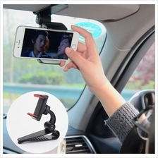 Car sunvisor sun visor passenger seat mobile phone holder