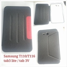 Samsung Tab 3 Lite T110 T111 tab 3V T116 Leather Cover Flip Case
