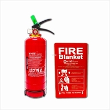 2kg ABC Powder Fire Extinguisher + Fire Blanket