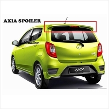 Perodua Axia 2014 ABS Spoiler With Break Light With Paint