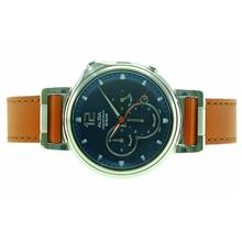 Alba Men Sign A Chronograph Leather Strap Watch VD53-X302BLSL