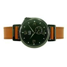 Alba Men Sign A Analog Leather Strap Watch VD78-X022BBL