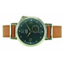 Alba Men Sign A Analog Leather Strap Watch VD78-X022BLSL