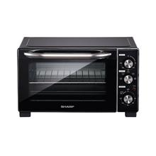 SHARP EO257CTBK ELECTRIC OVEN G25L 1500W 120 MINS TIMER CONVECTION TOP HEATING