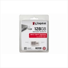 KINGSTON 128GB DT MICRO DUO TYPE C USB3.1 OTG FLASH DRIVE (DTDUO3C/128GB)