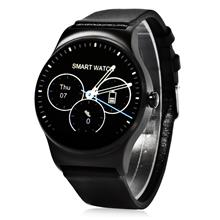 SMA - 09 HEART RATE MONITOR SMART WATCH WITH ALARM PHONEBOOK VOICE RECORD (BLA