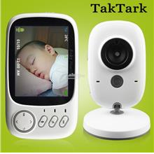 3.2 inch Wireless Video Color Baby Monitor High Resolution Baby Nanny