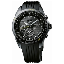 SEIKO SSE143J1 ASTRON Novak Djokovic World Time RSB GPS Solar Black LE