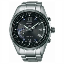 SEIKO SSE117J1 ASTRON 5th Anniv World Time Titanium GPS Solar Black LE