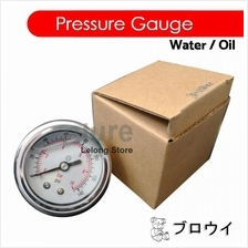 WATER SUPPLY LIQUID FILLED PRESSURE GAUGE 40mm/ 50mm 0-150PSI