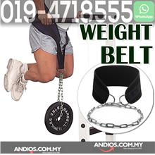 Weight Lifting Dip Belt Gym Waist Strength Training Fitness Pull Up Po