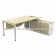 7.1ft x 5.2ft Contemporary Office Director Desk set OFSLM2163E KL