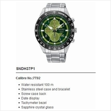 SEIKO . SNDH37P1 . CRITERIA . M . Chronograph . SSB . Quartz . Green